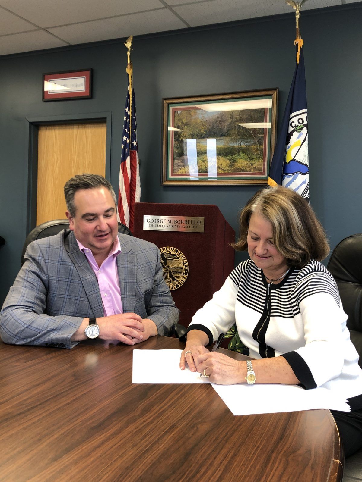 CWC BOD approves the signing of Chautauqua Lake Consensus Strategy